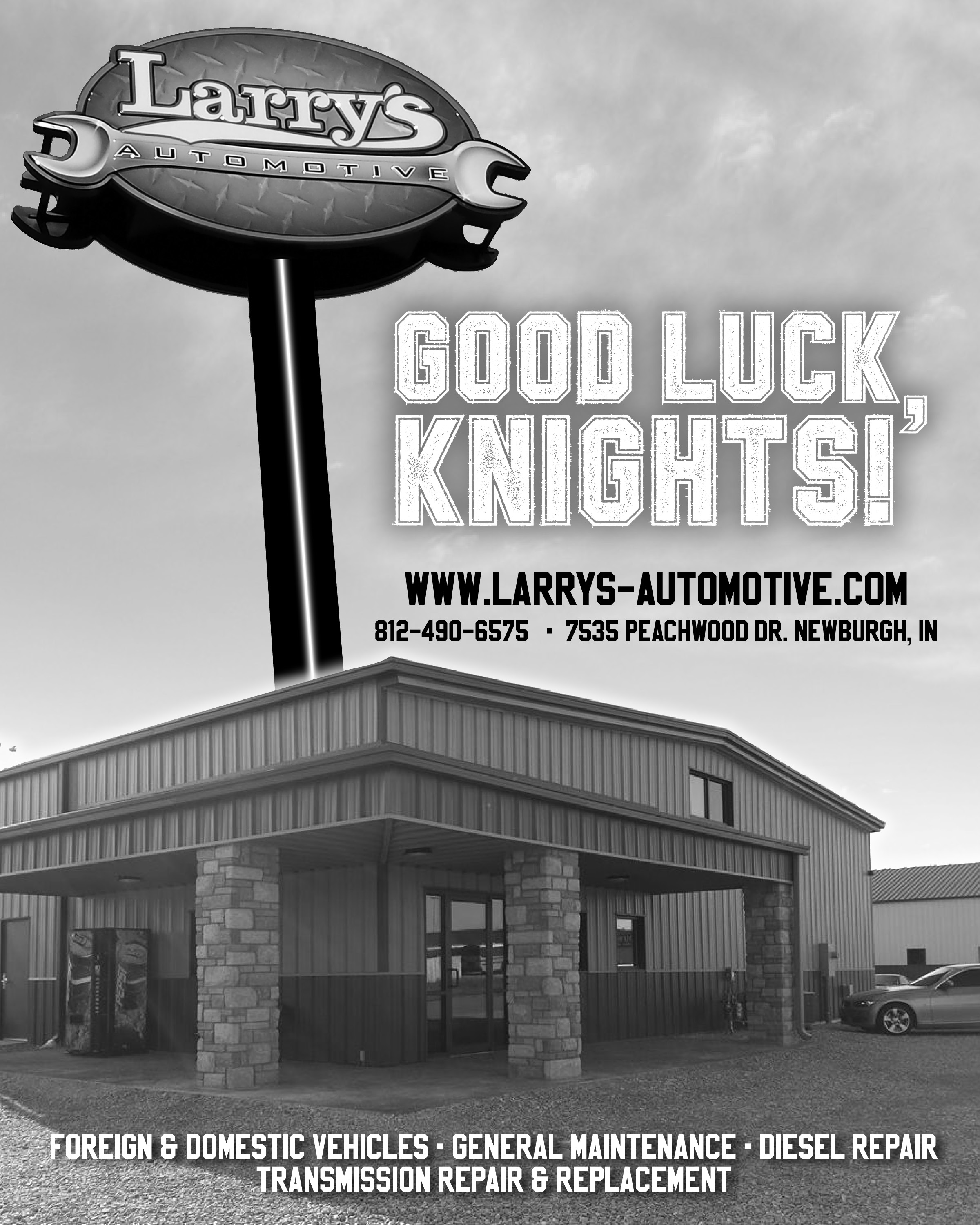 Larrys Automotive bw